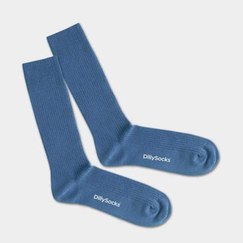 chaussettes-bleu